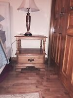 REDUCED! SOLID MAPLE FURNITURE!