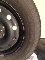 Hankook Tires with Rims
