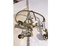 Quality Brass Bath taps and Shower head FOR SALE