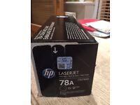 HP Laserjet 78A Black Cartridge CE278AD