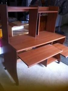 1 Light Wood Computer Study Desk Matraville Eastern Suburbs Preview