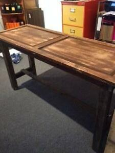 Recycled Timber Door Table Mosman Mosman Area Preview