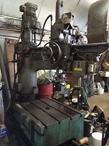 ASQUITH RADIAL DRILL