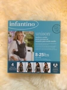 Infantino Unison Newborn Carrier (NEVER USED)