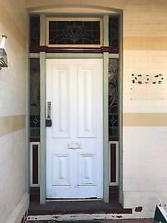 Gorgeous leadlight front door