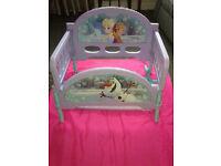 Toddler frozen bed