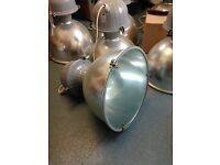 Overhead Industrial Pendant Lights for sale
