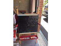 Easel/Blackboard