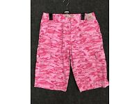 MENS HOT SUMMER SALE CAMO THREE QUARTER PRINT SHORTS TROUSER PANTS