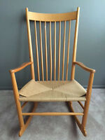 Hans Wegner Danish J16 Rocker Rocking Chair for FDB Mobler