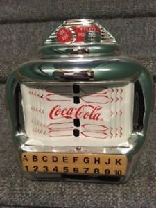Coke a Cola Jukebox Cookie Jar