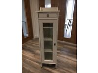 Bathroom Storage - lovely IKEA white bathroom storage unit for sale at reduced price of £35.