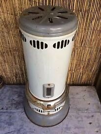 Greenhouse. Paraffin heater, stove