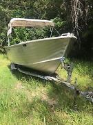 17 foot aluminum fishing boat Dunwich Redland Area Preview