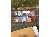 For Sale - Film and Music DVDs bundle