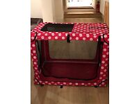 Pets at Home Fabric Dog/Cat Kennel - Large