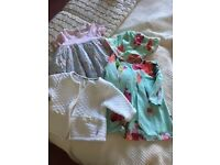 Clothing bundle for baby girl size 0-3 months very good condition (most are next clothing).