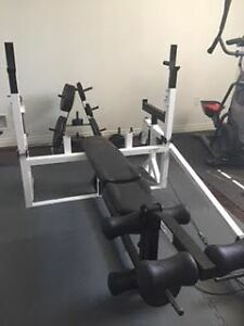 Entire Home Gym with weights