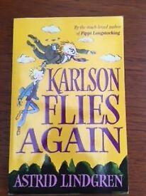 Karlson Flies Again by Astrid Lindgren (Pippi Longstocking) Kids Book