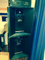Old School PA System Traynor/Peavey