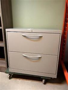 "2 Drawer Lateral Files - 30""W - $99"