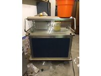 Burlodge Multigen two oven electric mobile catering unit. Mobile catering or carvery applications.