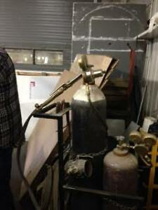 Oxyacetylene torches and tips