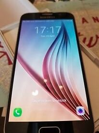 Samsung Galaxy S6 Black Sapphire (immaculate condition)