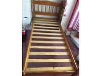 Pine Single Bed Frame for sale