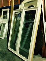 New Large White Casement Window