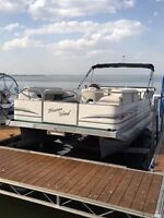 Barely used Pontoon boat, great for the family