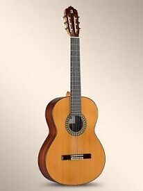 Accoustic/Classical Guitar w/ new strings and a carry bag.