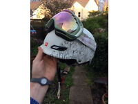 Quicksilver helmet and Oakley (Polarised) goggles