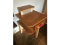 Unique handmade child's desk
