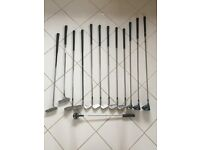 Titleist Gold Bag (Black) 7 x Nlcklaus Irons - 2 x Mizino Drivers - 1 Master 3 Driver - 2 Putters