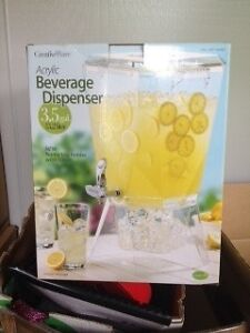 Acrylic drink dispenser Pitt Town Hawkesbury Area Preview