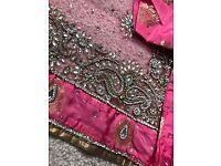 Gorgeous pink banarsi suit -would fit size 8-10