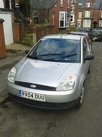 Silver Ford Fiesta 04 for sale.