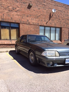 1987 FORD MUSTANG GT FOR SALE