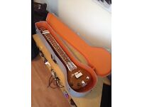 Electric Sitar with Soft and Hard Case