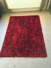 Deep red rug...pick up north anston