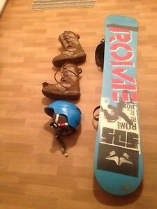 Snowboard ROME AGENT 158 (180-200ibs)