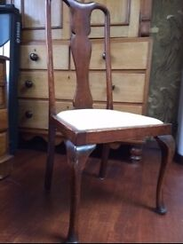 Dining chairs pair £20