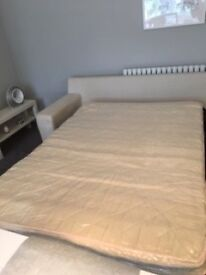 3 Seater Marks&Spencer bed settee & 2 seater matching settee with set of extra loose covers