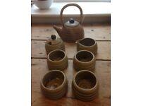 Quaint tea set