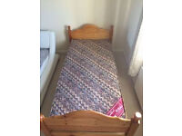 Single Bed and Mattress DELIVERY POSSIBLE