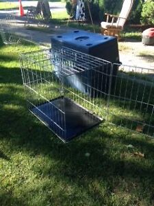 Large Wire Dog Crate - Collapsible Peterborough Peterborough Area image 2