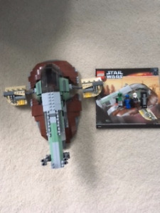 Lego Star Wars 6209 Slave 1 USED