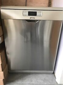 Smeg Dishwasher (Silver), 18months old, perfect working order
