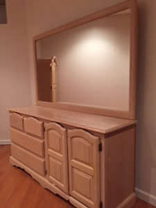 Pinewood Dresser with lots of storage